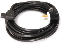 Shielded Belden 19364 Power cable with Right Angle Pass&Seymour plug and Right Angle Schurter receptacle