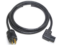 Shielded Belden 19364 Power cable with Marinco plug and Right Angle Schurter receptacle