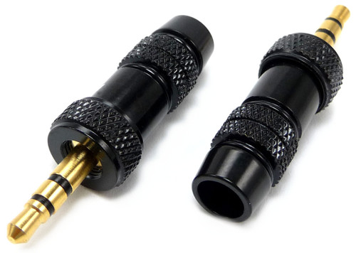 Gold Plated 3.5mm male stereo Audio Plug