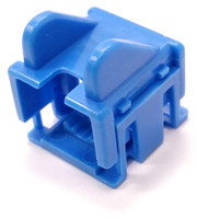 Blue 2 Piece Snap-On RJ45 Boot