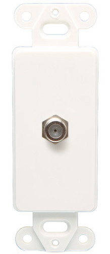 Coax Wall Plate Decor, Ivory