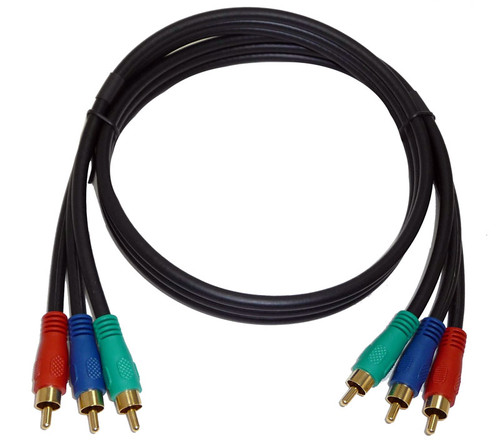Component Video Cable, 6 feet long