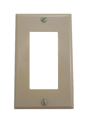Ivory plastic Designer Style Wall plate