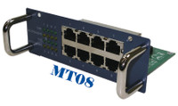 8 Ports 10/100mps RJ module for CES2326B Modular Switch