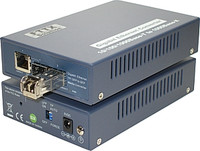 GbE SFP To 10/100/1000Base-T/GbE SFP Media Converter