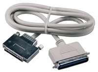 SCSI cable, CN50 Male to HD68 Male, 3 feet long