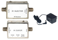 IR over Coaxial Cable kit, Includes Injector and Coupler