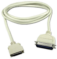 IEEE1284 Printer extension cable Type-B to Type-C connectors