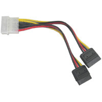 SATA Power y cable 6 inches long