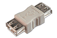 USB Coupler Adapter, A female to A female