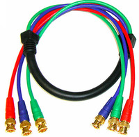 RGB Video Cable 3 BNC to 3 BNC