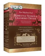 Addiction Homestyle Venison & Cranberry Dinner