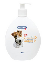 2 in 1 Goat's Milk Shampoo for Dogs Grapefruit Scented