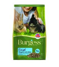 Burgess Junior & Dwarf Rabbit Nuggets
