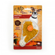 All For Paw Grilled T-Bone Chews- Honey Caramel Flavor