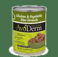 Avoderm Chicken & Vegetables Stew Canned