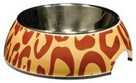 Animal Prints 2-in-1 Cat Bowl