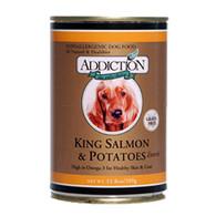 Addiction King Salmon & Potatoes Entrée Dog Canned