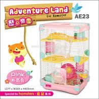 Alice Adventure Land Hamster Double-Deck Cage