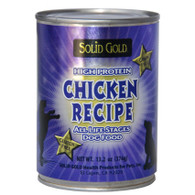 Solid Gold Chicken Recipe Canned (12 cans)