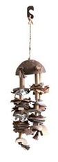 Living World Nature's Treasure Bird ToyCoco Shell ChimeFor small and medium hookbills