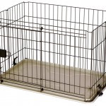 Marukan Dog Cage  Slide Door Wide Type  4th feet cage L118 X D63 X H66cm