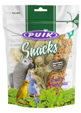 Puik Snacks Snack	& Play Nature Seed	 Sticks 4pcs 115g