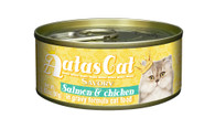 Aatas Cat Salmon & Chicken in Gravy