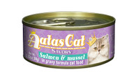 Aatas Cat Salmon & Mussel in Gravy