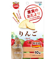 Marukan Freeze Dried Apple For Small Animals 10g