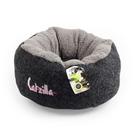 All For Paws Catzilla Mellow Cat Bed Black