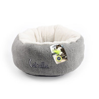 All For Paws Catzilla Mellow Cat Bed Grey