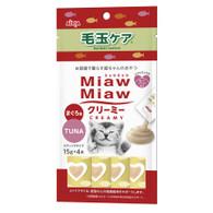 Miaw Miaw Creamy - Hairball Control 15g x 4