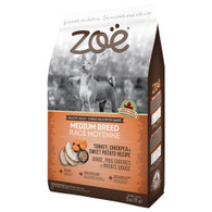 Zoe - Medium Breed Turkey, Chickpea & Sweet Potato