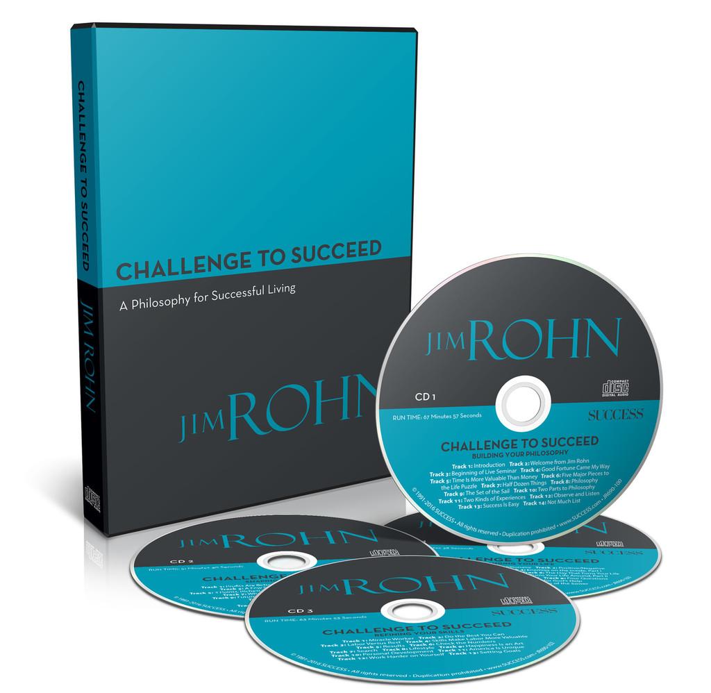 Jim Rohn - The Challenge to Succeed