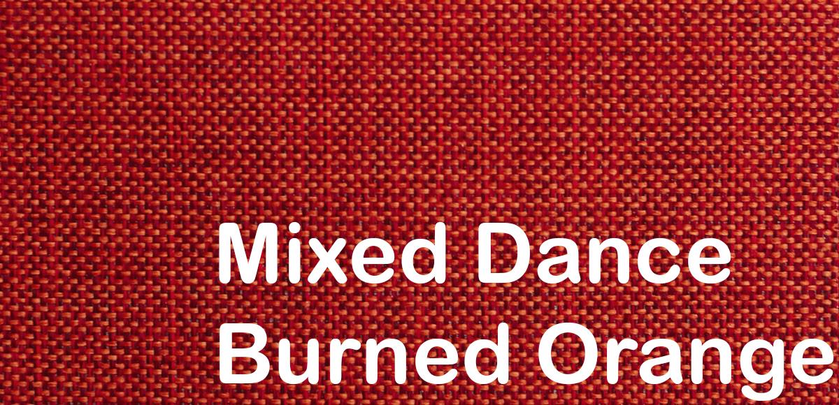 mixed dance burned orange 524