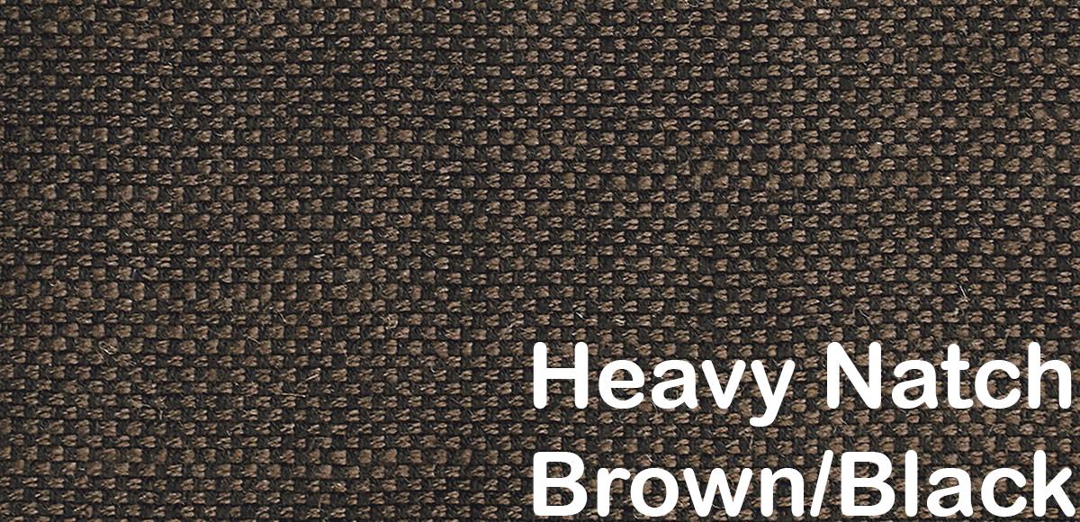 heavy natch brown black pattern