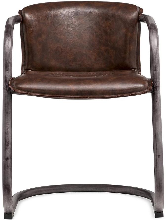 antonio cognac chair 2