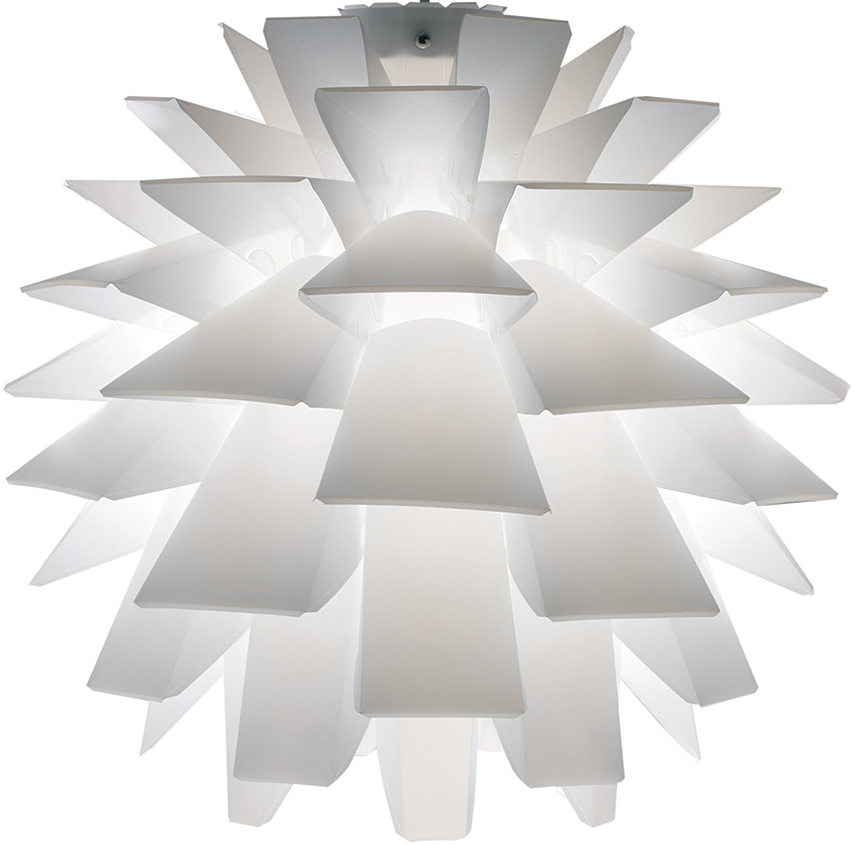 the asparagus pendant lamp in white