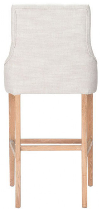 the back of the burbank bar chair