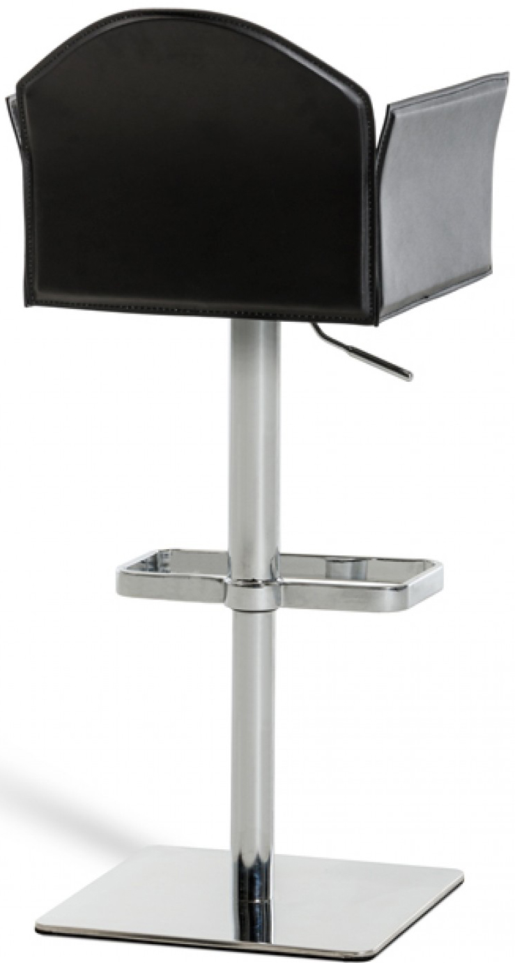 discount black bar chair available at Advanced Interior Designs