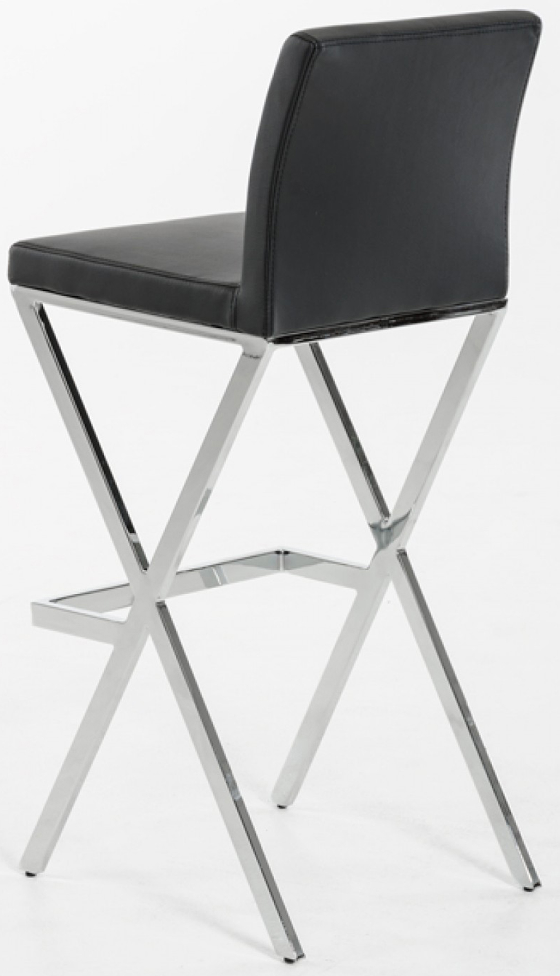 enjoy this brand new and elegant black bar stool in any dining room or kitchen.