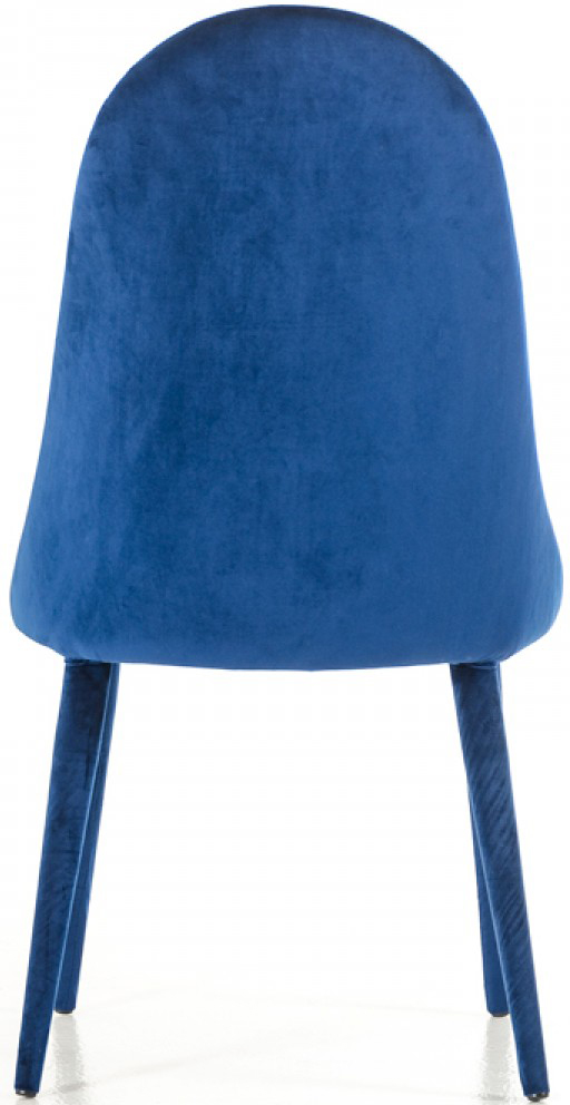 discount blue modern dining chairs
