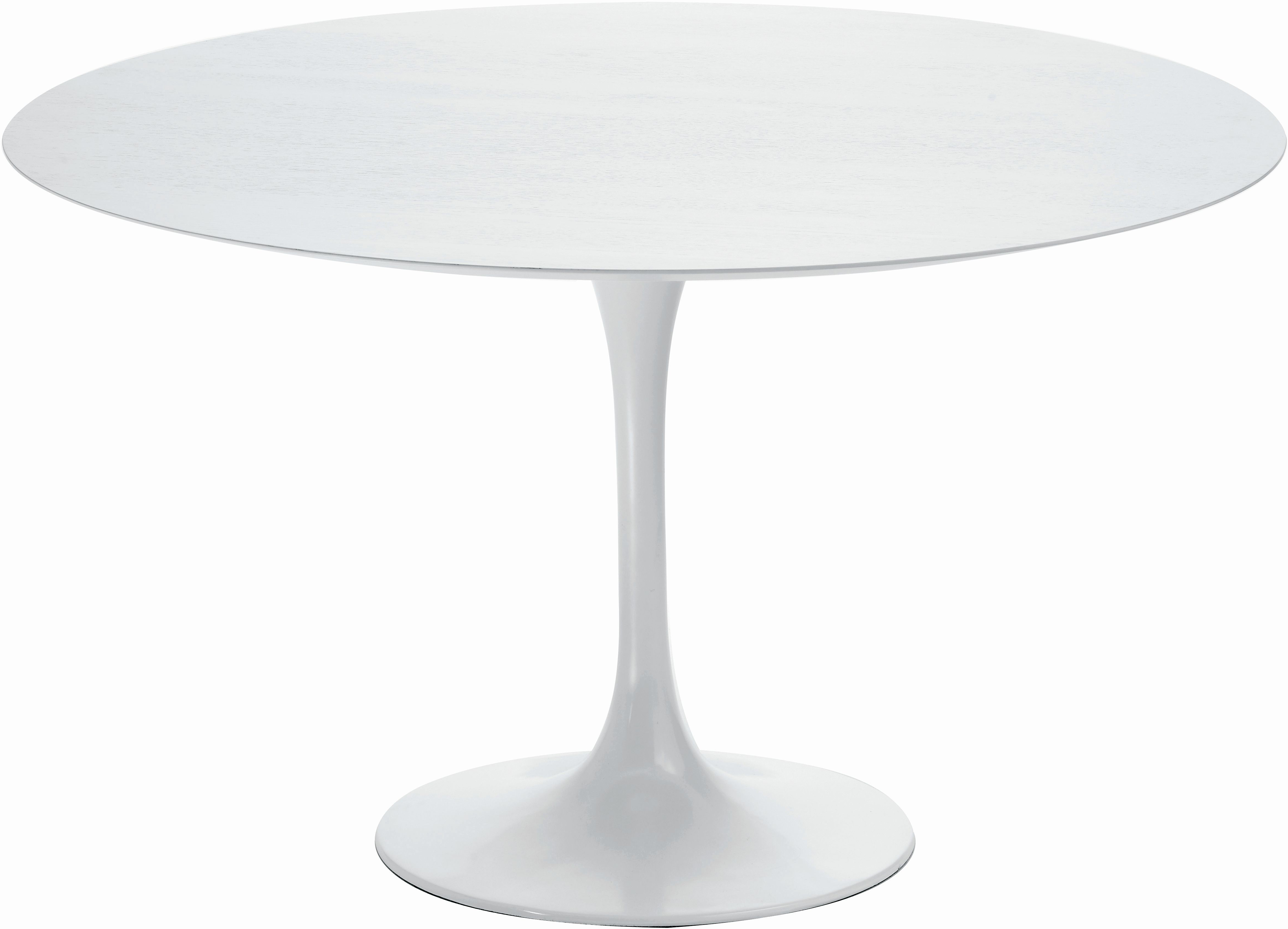 the nuevo cal dining table in white