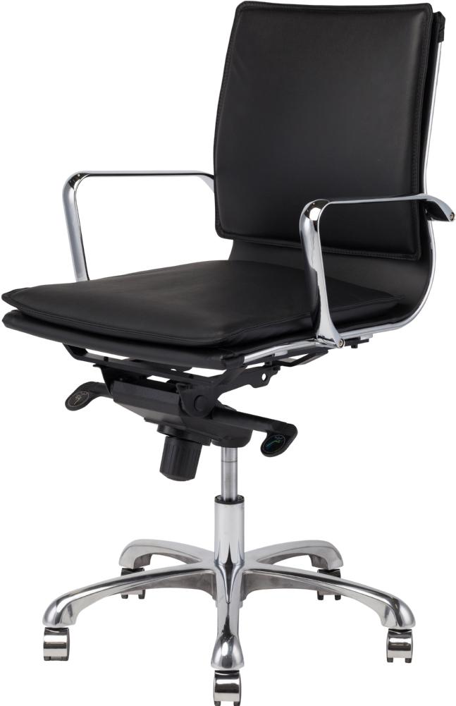nuevo carlo office chair in black