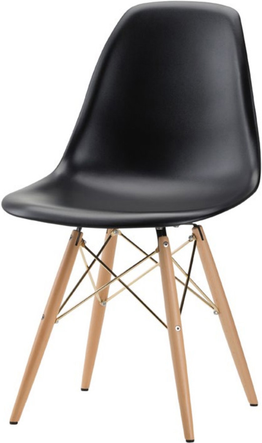 the charlie dining chair in black