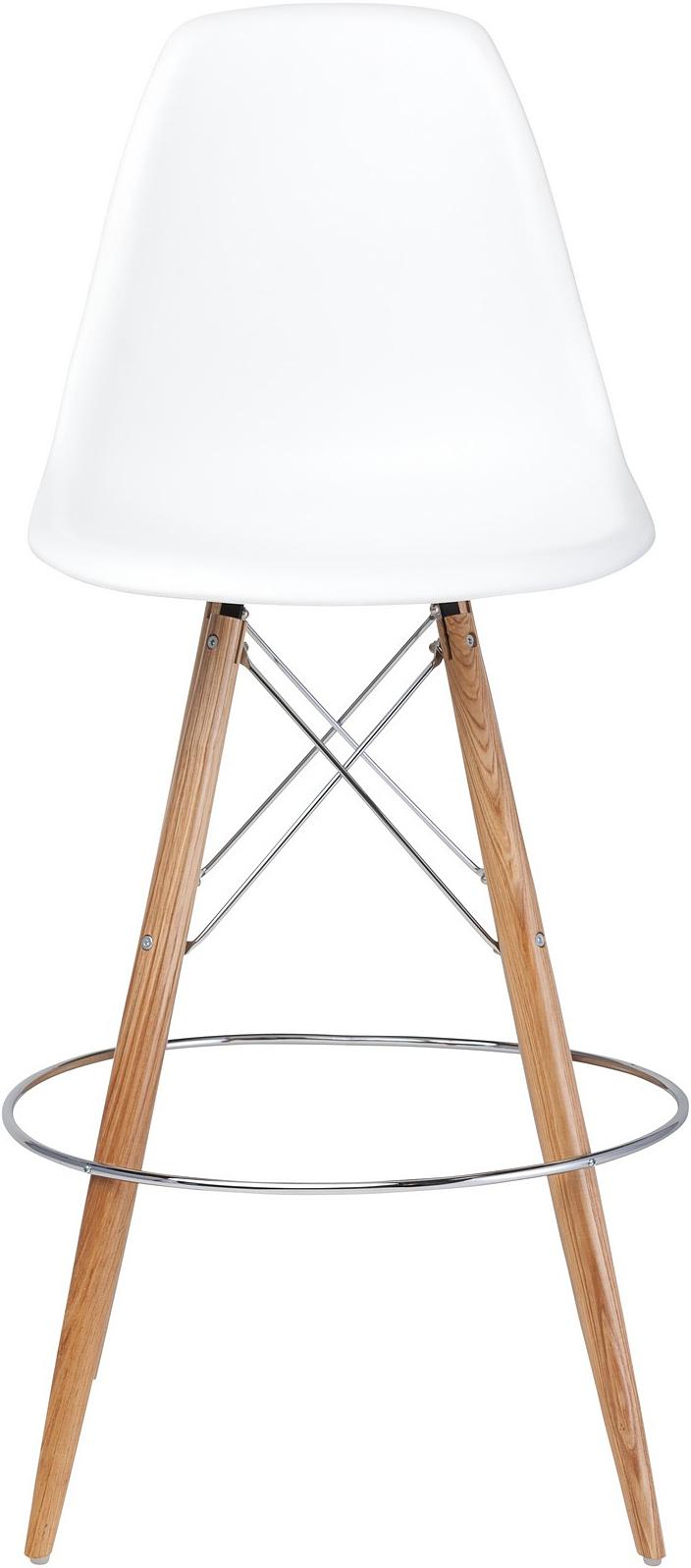 the charlotte bar stool in black