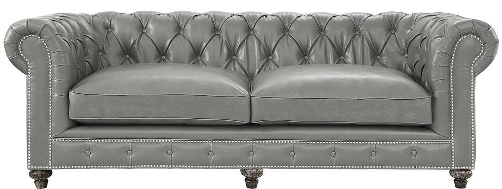 Vintage Leather Chesterfield Aristocrat Sofa Set Sofas