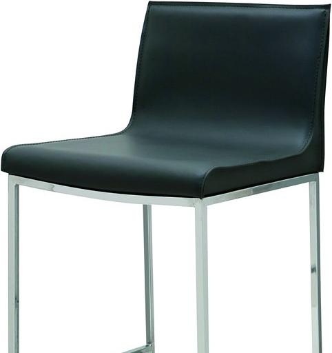 the nuevo living colter bar stool black