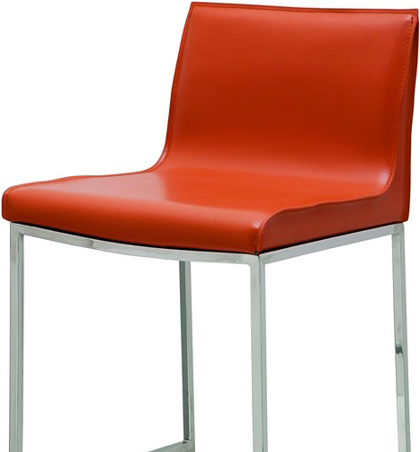 the colter bar stool in ochre